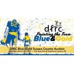 Blue-Gold Sussex Auction Tickets